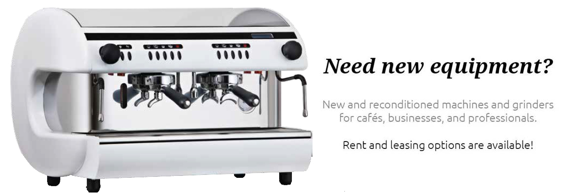 need new coffee equipment
